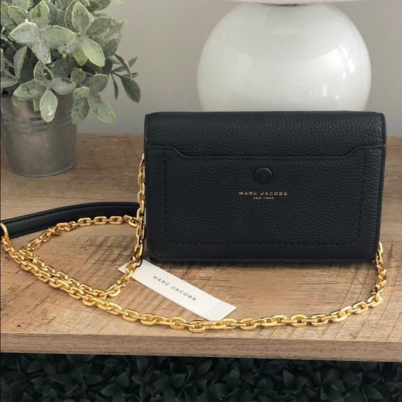 Marc By Marc Jacobs Handbags - MARC JACOBS Chain Crossbody Purse Black NWT